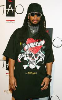 Lil' Jon at the Tao Nightclub. during the club's one-year anniversary party.