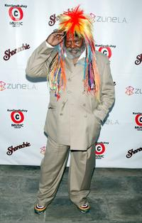George Clinton at his 67th birthday party at Zune.