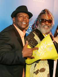Randy Jackson and George Clinton at the Grammy Jams' celebration of Stevie Wonder.