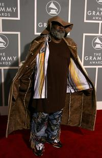 George Clinton at the 49th Annual Grammy Awards.