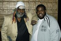George Clinton and Producer Rodney Jenkins at the