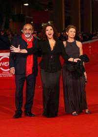 Alessandro Haber, director Stefania Sandrelli and Amanda Sandrelli at the photocall of