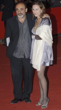 Alessandro Haber and guest at the premiere of