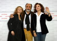 Amanda Sandrelli, Alessandro Haber and director Stefania Sandrelli at the 4th Rome International Film Festival.