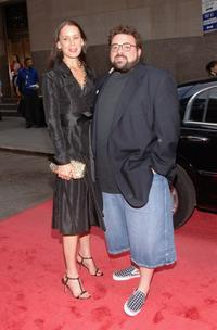 Jennifer Schwalbach Smith and Director Kevin Smith at the premiere of