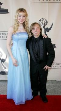 Lisa Foiles and Steven Anthony Lawrence at the 57th Annual LA Area Emmy Awards.