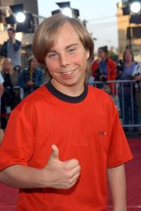 Steven Anthony Lawrence at the premiere of