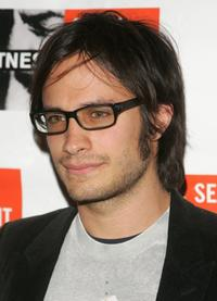 Gael Garcia Bernal at the Focus For Change Concert.