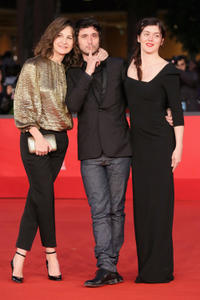 Valerie Lemercier, Jeremie Elkaim and Valerie Donzelli at the premiere of