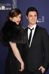 Valerie Donzelli and Jeremie Elkaim at the 37th Cesar Film Awards in Paris.