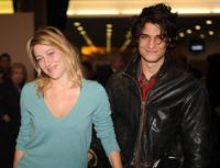 Valeria Bruni-Tedeshi and Louis Garrel at the opening dinner of Estoril Film Festival.