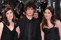 Clementine Poidatz, Louis Garrel and Laura Smet at the premiere of