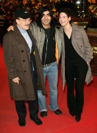 Volker Schloendorff, Fatih Akin and Bibiana Beglau at the premiere of