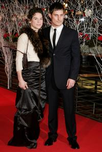 Bibiana Beglau and Clemens Schick at the premiere of