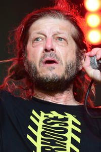 Keith Morris performs during the 2015 Coachella Valley Music & Arts Festival in Indio, California.