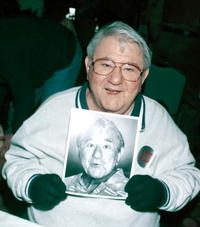 Buddy Hackett at the