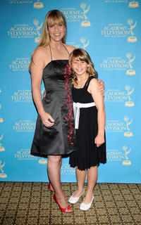 Terri Irwin and Bindi Irwin at the 36th Annual Daytime Creative Arts Emmy Awards in California.