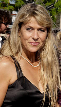 Terri Irwin at the red carpet of the 2009 ARIA Awards in Australia.