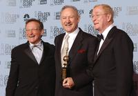 Gene Hackman, Robin Williams and Michael Caine at the 60th Annual Golden Globe Awards.