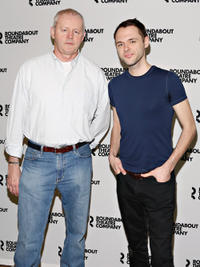 David Morse and Christopher Denham at the off-Broadway Cast photocall of