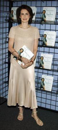 Dayle Haddon at the signing of new book