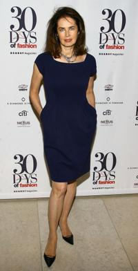 Dayle Haddon at the 30 Days Of Fashion event.