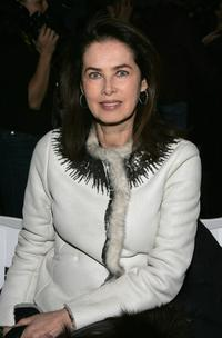 Dayle Haddon at the Peter Som Fall 2007 fashion show during Mercedes-Benz Fashion Week.