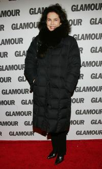 Dayle Haddon at the party of Glamour Magazines first-ever Hero Issue.