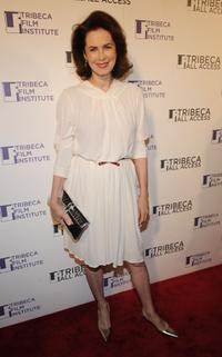 Dayle Haddon at the TAA Awards Ceremony during the 2008 Tribeca Film Festival.