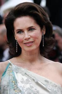 Dayle Haddon at the screening of