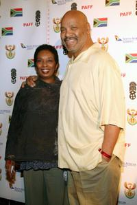 Dr. Barbara Avery and James Avery at the 14th Annual Pan African Film Fest Opening Night Gala.