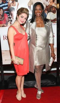 Margaret Avery and Brooke Lyons at the premiere of