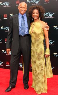 Margaret Avery and her husband at the 2006 BET Awards.
