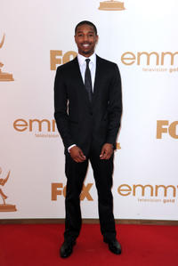 Michael B. Jordan at the 63rd Annual Primetime Emmy Awards in California.
