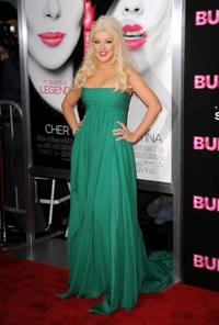 Christina Aguilera at the California premiere of