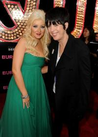 Christina Aguilera and Diane Warren at the California premiere of