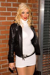 Christina Aguilera at the after party of