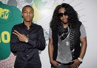 Bow Wow and singer Omarion at the MTV's Total Request Live.