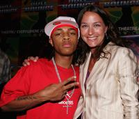 Bow Wow and Maria Faillace at the after party premiere of