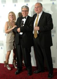 Sheridan Smith, Patrick Barlow and Mike McShane at the Best Comedy Award.