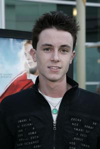 Ryan Kelley at the premiere of