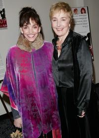 Brooke Adams and Lynne Adams at the New York premiere of