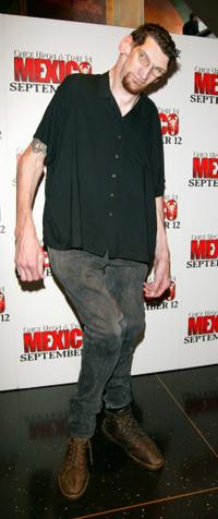 Matthew McGrory at the New York premiere of