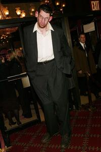 Matthew McGrory at the world premiere of