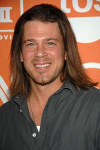 Christian Kane at the 2008 Summer TCA Tour Turner Party.
