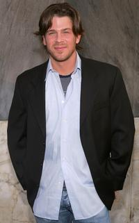 Christian Kane at the CBS Stars Party.