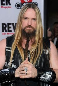 Zakk Wylde at the 2nd Annual Revolver Golden Gods Awards.