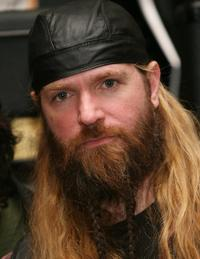 Zakk Wylde at the induction ceremony into Hollywood's Rockwalk.