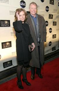 Dagmara Dominczyk and Jon Voight at the premiere screening of