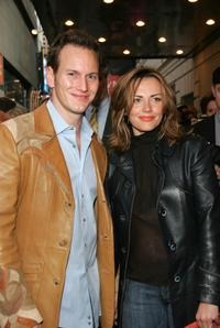 Patrick Wilson and Dagmara Dominczyk at the opening night of